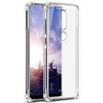 i TPU Hoesje Nokia 6.1 Plus - Transparant