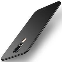 Mofi Hardcase Hoesje Nokia 6.1 Plus - Zwart