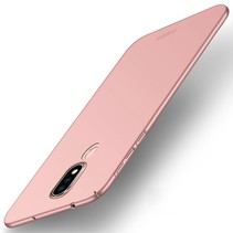 Mofi Hardcase Hoesje Nokia 6.1 Plus - Roze / Goud