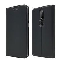 Booktype Hoesje Nokia 6.1 Plus - Zwart
