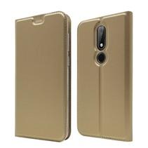 Booktype Hoesje Nokia 6.1 Plus - Goud