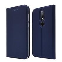 Booktype Hoesje Nokia 6.1 Plus - Donker Blauw