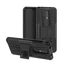 Hybrid Hoesje Nokia 6.1 Plus - Zwart