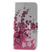 Roze Bloesem Booktype Hoesje Nokia 6.1 Plus