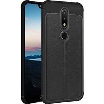 Imak TPU Hoesje Nokia 6.1 Plus - Zwart