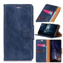 Booktype Hoesje Nokia 7.1 - Blauw