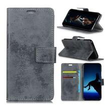 Booktype Hoesje Nokia 7.1 - Grijs