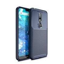 TPU Hoesje Nokia 7.1 - Blauw