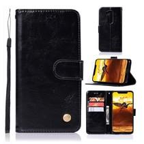 Booktype Hoesje Nokia 8.1 - Zwart