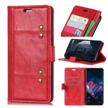 Booktype Hoesje Nokia 8.1 - Rood