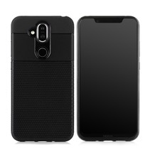 TPU Hoesje Nokia 8.1 - Zwart