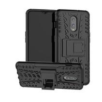 Hybrid Hoesje OnePlus 6T - Zwart