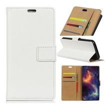 Booktype Hoesje OnePlus 6T - Wit