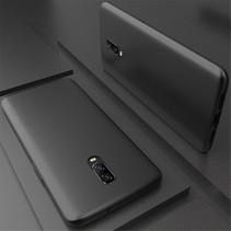 X-level TPU Hoesje OnePlus 6T - Zwart