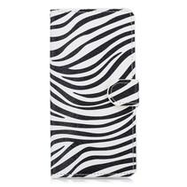 Zebra Booktype Hoesje OnePlus 6T