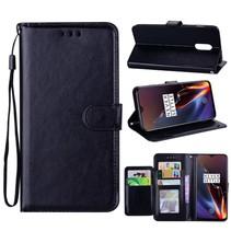 Booktype Hoesje OnePlus 6T - Zwart