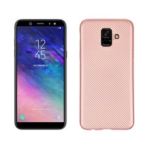 TPU Hoesje Samsung Galaxy A6 2018 - Roze / Goud