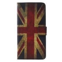Britse Vlag Booktype Hoesje Samsung Galaxy A6 2018