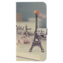 Eiffeltoren Booktype Hoesje Samsung Galaxy A6 2018