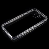 Hybrid Hoesje Samsung Galaxy A6 2018 - Transparant