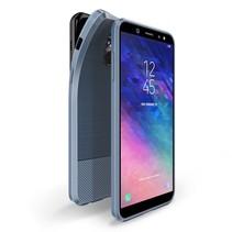 Dux Ducis TPU Hoesje Samsung Galaxy A6 2018 - Donker Blauw
