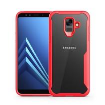Hybrid Hoesje Samsung Galaxy A6 2018 - Rood