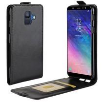 Flipcase Hoesje Samsung Galaxy A6 2018 - Zwart