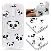 Pandas TPU Hoesje Samsung Galaxy A6 2018