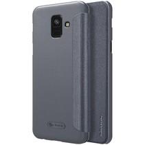 Nillkin Booktype Hoesje Samsung Galaxy A6 2018 - Zwart