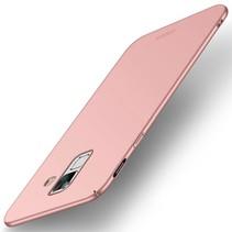 m Hardcase Hoesje Samsung Galaxy A6 2018 - Roze / Goud