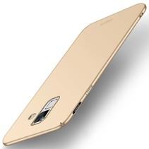 m Hardcase Hoesje Samsung Galaxy A6 2018 - Goud