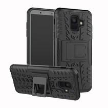 Hybrid Hoesje Samsung Galaxy A6 2018 - Zwart