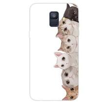 Katten TPU Hoesje Samsung Galaxy A6 2018