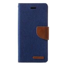 Mercury Goospery Jeans Booktype Hoesje Samsung Galaxy A6 2018 - Blauw