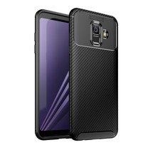 TPU Hoesje Samsung Galaxy A6 2018 - Zwart
