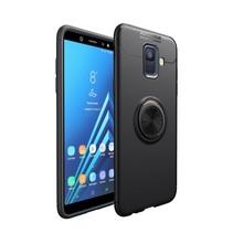 Lenuo TPU Hoesje Samsung Galaxy A6 2018 - Zwart