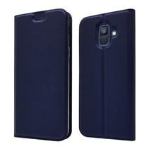Booktype Hoesje Samsung Galaxy A6 2018 - Donker Blauw