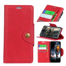 Booktype Hoesje Samsung Galaxy A6 Plus 2018 - Rood
