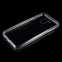 Hybrid Hoesje Samsung Galaxy A6 Plus 2018 - Transparant