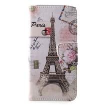Eiffeltoren Booktype Hoesje Samsung Galaxy A6 Plus 2018