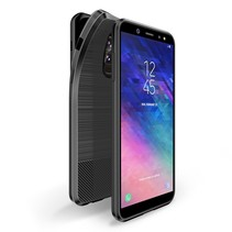 Dux Ducis TPU Hoesje Samsung Galaxy A6 Plus 2018 - Zwart