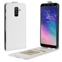 Flipcase Hoesje Samsung Galaxy A6 Plus 2018 - Wit