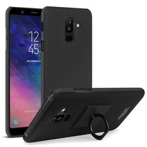 Imak Hardcase Hoesje Samsung Galaxy A6 Plus 2018 - Zwart