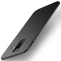 Mofi Hardcase Hoesje Samsung Galaxy A6 Plus 2018 - Zwart