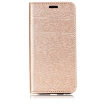 Booktype Hoesje Samsung Galaxy A6 Plus 2018 - Goud