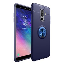 TPU Hoesje Samsung Galaxy A6 Plus 2018 - Blauw