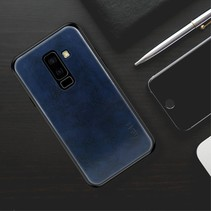Mofi Hybrid Hoesje Samsung Galaxy A6 Plus 2018 - Blauw