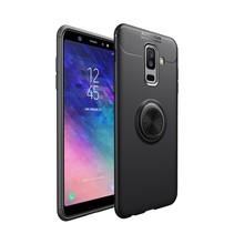 Lenuo TPU Hoesje Samsung Galaxy A6 Plus 2018 - Zwart