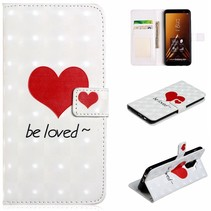 Be Loved Booktype Hoesje Samsung Galaxy A6 Plus 2018
