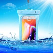 Waterdicht Hoesje Samsung Galaxy A6 Plus 2018 - Blauw